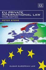EU Private International Law - Peter Stone