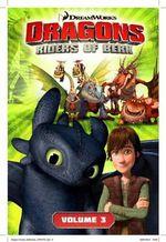 DreamWorks' Dragons : The Ice Castle (How to Train Your Dragon TV) Volume 3 - Simon Furman