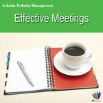 A Guide to Better Management : Effective Meetings - Jon Allen