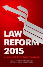 Law Reform 2015 - Stephen Hockman
