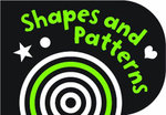 Black and White Shapes and Patterns : Chunky Board Book - Holly Brook-Piper