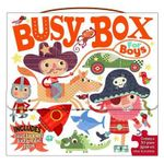Busy Box for Boys- Book and Jigsaw Puzzle Set - HOLLY BROOK-PIPER
