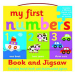 My First Numbers- Book and Jigsaw Puzzle Set - AUTUMN
