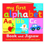 My First Alphabet Book and Jigsaw Puzzle Set