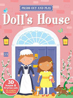 My Press Out and Play Book Doll's House - AUTUMN