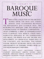 The Library of Baroque Music Piano Solo Book - Hal Leonard Publishing Corporation