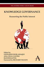 Knowledge Governance : Reasserting the Public Interest