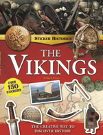 The Sticker Histories : The Vikings - William Potter