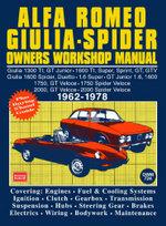 Alfa Romeo Spider Owners Work Manual - Trade Manual