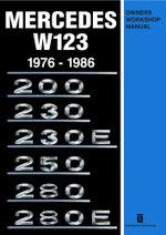 Mercedes W123 Own Work Man 1976-1986 - Trade Manual