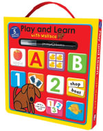 Play & Learn With Wallace Wipe Clean Box - Roger Priddy
