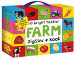 Bright Toddler Jigsaw and Book Set : Farm - Bright Toddler