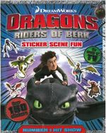 Dragons - Riders of Berk : Sticker Scenes Fun - DreamWorks
