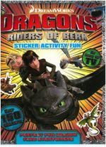 Dragons - Riders of Berk : Sticker and Activity Book - DreamWorks