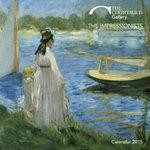 Courtauld Gallery the Impressionists Wall Calendar 2015 (Art Calendar)