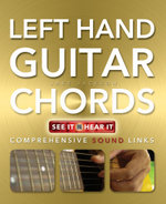 Left Hand Guitar Chords Made Easy : Comprehensive Sound Links - Jake Jackson