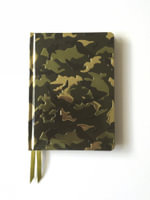 Camouflage (Foiled Journal) - FLAME TREE