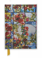 Tiffany Trellised Rambler Roses (Foiled Journal) : Flame Tree Notebooks : Number 41 - Flame Tree