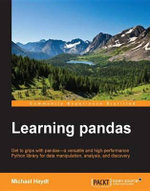 Learning pandas - Heydt  Michael