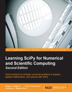 Learning SciPy for Numerical and Scientific Computing - Second Edition - Sergio J. Rojas G.
