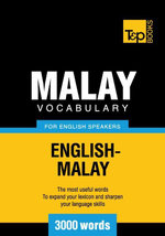 Malay vocabulary for English speakers - 3000 words - Andrey Taranov