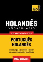 Vocabulario Portugues-Holandes - 9000 palavras mais uteis - Andrey Taranov