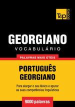 Vocabulario Portugues-Georgiano - 9000 palavras mais uteis - Andrey Taranov