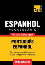 Vocabulario Portugues-Espanhol - 9000 palavras mais uteis - Andrey Taranov