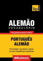 Vocabulario Portugues-Alemão - 9000 palavras mais uteis - Andrey Taranov