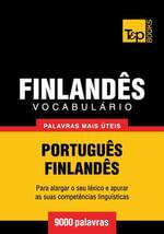 Vocabulario Portugues-Finlandes - 9000 palavras mais uteis - Andrey Taranov