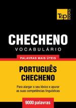 Vocabulario Portugues-Checheno - 9000 palavras mais uteis - Andrey Taranov