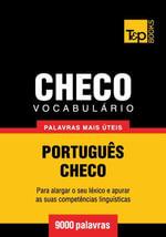 Vocabulario Portugues-Checo - 9000 palavras mais uteis - Andrey Taranov