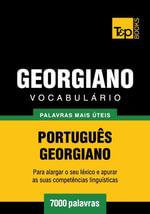 Vocabulario Portugues-Georgiano - 7000 palavras mais uteis - Andrey Taranov