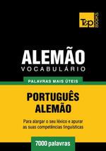 Vocabulario Portugues-Alemão - 7000 palavras mais uteis - Andrey Taranov