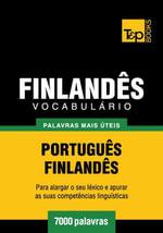 Vocabulario Portugues-Finlandes - 7000 palavras mais uteis - Andrey Taranov