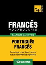 Vocabulario Portugues-Frances - 7000 palavras mais uteis - Andrey Taranov