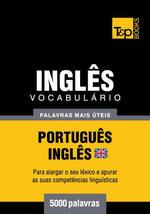 Vocabulario Portugues-Ingles britânico - 5000 palavras mais uteis - Andrey Taranov