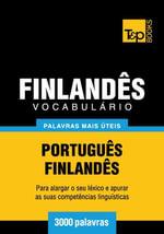 Vocabulario Portugues-Finlandes - 3000 palavras mais uteis - Andrey Taranov