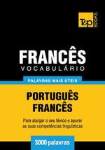 Vocabulario Portugues-Frances - 3000 palavras mais uteis - Andrey Taranov