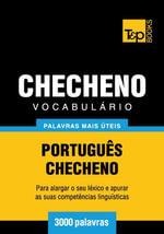 Vocabulario Portugues-Checheno - 3000 palavras mais uteis - Andrey Taranov