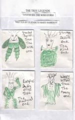 The Tree Legends Legend Six : The Wind Storm - Elizabeth M. Harrison