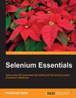 Selenium Essentials - Sams   Prashanth