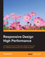 Responsive Design High Performance - Els  Dewald