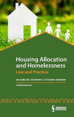 Housing Allocation and Homelessness : Law and Practice - Jan Luba
