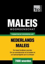 Thematische woordenschat Nederlands-Maleis - 7000 woorden - Andrey Taranov