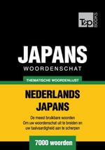Thematische woordenschat Nederlands-Japans - 7000 woorden - Andrey Taranov