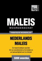 Thematische woordenschat Nederlands-Maleis - 5000 woorden - Andrey Taranov