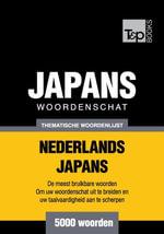 Thematische woordenschat Nederlands-Japans - 5000 woorden - Andrey Taranov