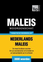 Thematische woordenschat Nederlands-Maleis - 3000 woorden - Andrey Taranov