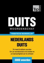 Thematische woordenschat Nederlands-Duits - 3000 woorden - Andrey Taranov